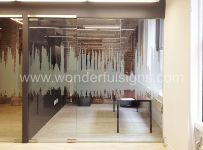 Frosted Glass Decals