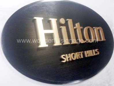 brass bronze sign plaques