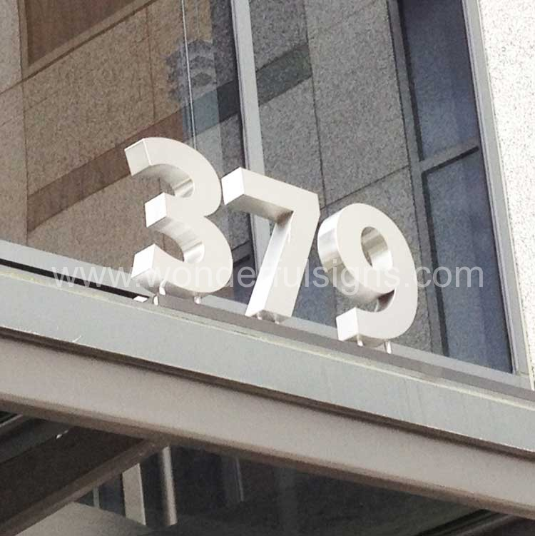 Standing Metal Letters Awesome Dimensional Letters  Metal Letters  Wonderful Signs New York Design Decoration