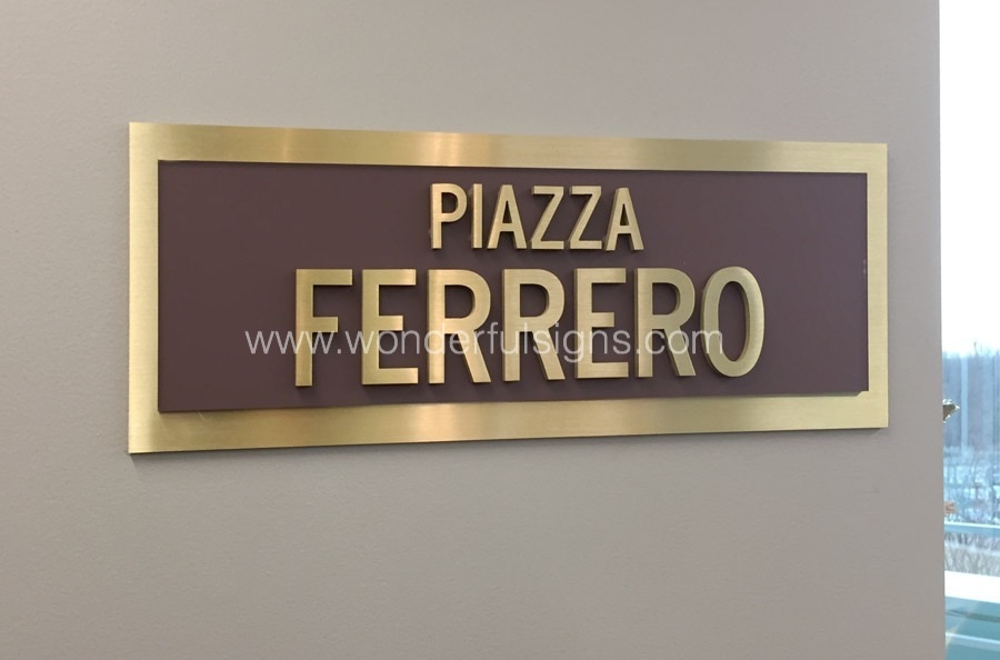metal sign plaques ny